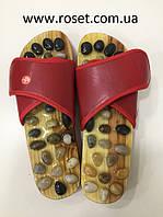 """Массажные тапочки """"Морской берег"""" - Jade Health massage shoes"""