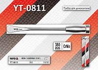 Монтажка автомобильна с ручкой  Ø=9,5мм, L=380мм, YATO YT-0811, фото 1