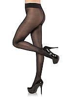 Женские капроновые колготки Marilyn (в расцветках) черный, 4