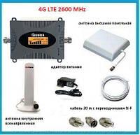 4G комплект LTK-2616 LTE 2600 MHz 65 dbi с дисплеем. Площадь покрытия 200 кв. м.