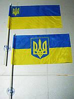 Флажок  Украины  на присоске