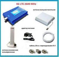 4G комплект LTK-2620 LTE 2600 MHz 70 dbi с дисплеем. Площадь покрытия 400 кв. м.