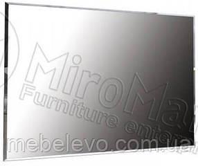 Асти Зеркало 100х80 800х1000х22мм дуб крафт + белый глянец   Миро-Марк