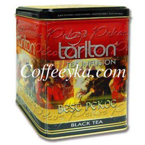 Чай черный Tarlton Best Pekoe 250 г, ж/б.