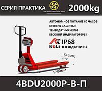 Рокла весы для склада 4BDU2000Р-В-П, фото 1