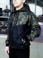 Ветровка мужская весенняя осенняя куртка камуфляж