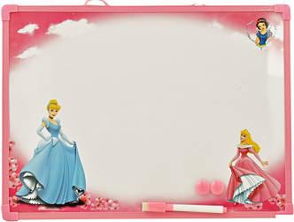 """Детская магнитная доска маркерная-меловая """"Принцессы"""", фото 2"""