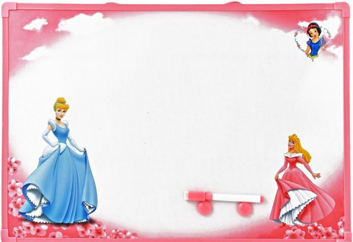 """Детская  магнитная доска маркерная """"Принцессы"""", большая"""
