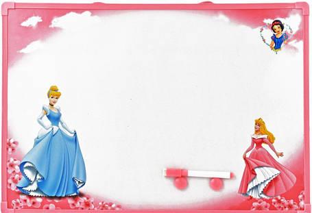 """Детская  магнитная доска маркерная """"Принцессы"""", большая, фото 2"""