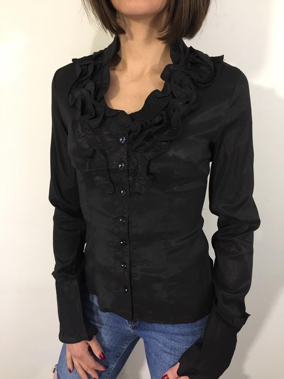 Рубашка женская 432 черная