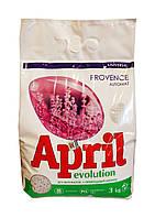 Стиральный порошок автомат April Evolution Universal Provence - 3 кг.