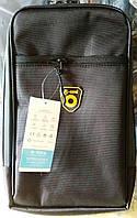 Велосипедная сумка B-SOUL на багажник термо с мигалкой (стоп, задний фонарь) 2 в 1