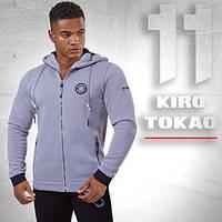 Kiro Tokao 156 | Толстовка спортивная серая
