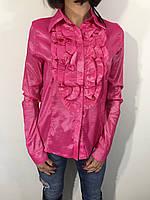 Рубашка женская 14 розовая XXL