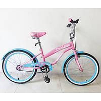Велосипед TILLY CRUISER 20 T-22032 Pink+Blue