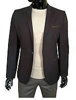 Мужской пиджак коричневый №96/3 - F 5250, фото 1