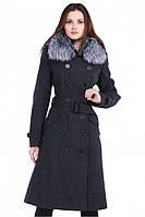 Очаровательное женское стильное пальто, фото 1