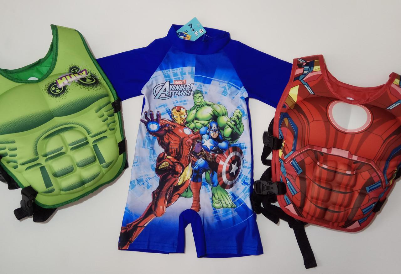 Купальный костюм, комбинезон,  Супергерои Марвел