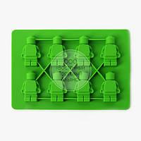 Силіконова форма - Лего чоловічки №1