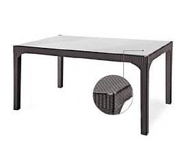 Стол из ротанга Олимпия Olympia Rattan 150х90