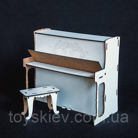 Кукольная мебель BigEcoToys Пианино 1712
