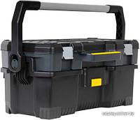 Ящик для инструмента STANLEY пластмассовый со съемным кейсом 67х32,3х38,3 см