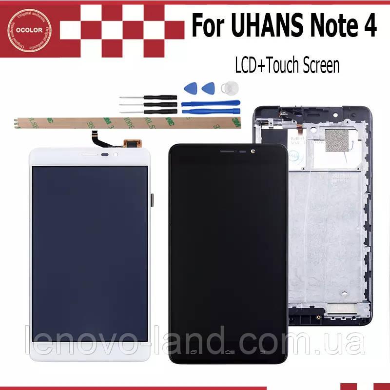 LCD дисплей + сенсор для UHANS Note 4 (модуль)
