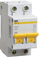 Автоматический выключатель ВА47-29 2P 20A 4,5кА х-ка B IEK