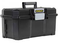 Ящик для инструмента 24'' профессиональный Stanley One Latch из структулена 605х287х287мм