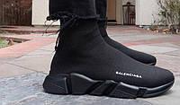 Кроссовки мужские  Balenciaga Speed Sock black