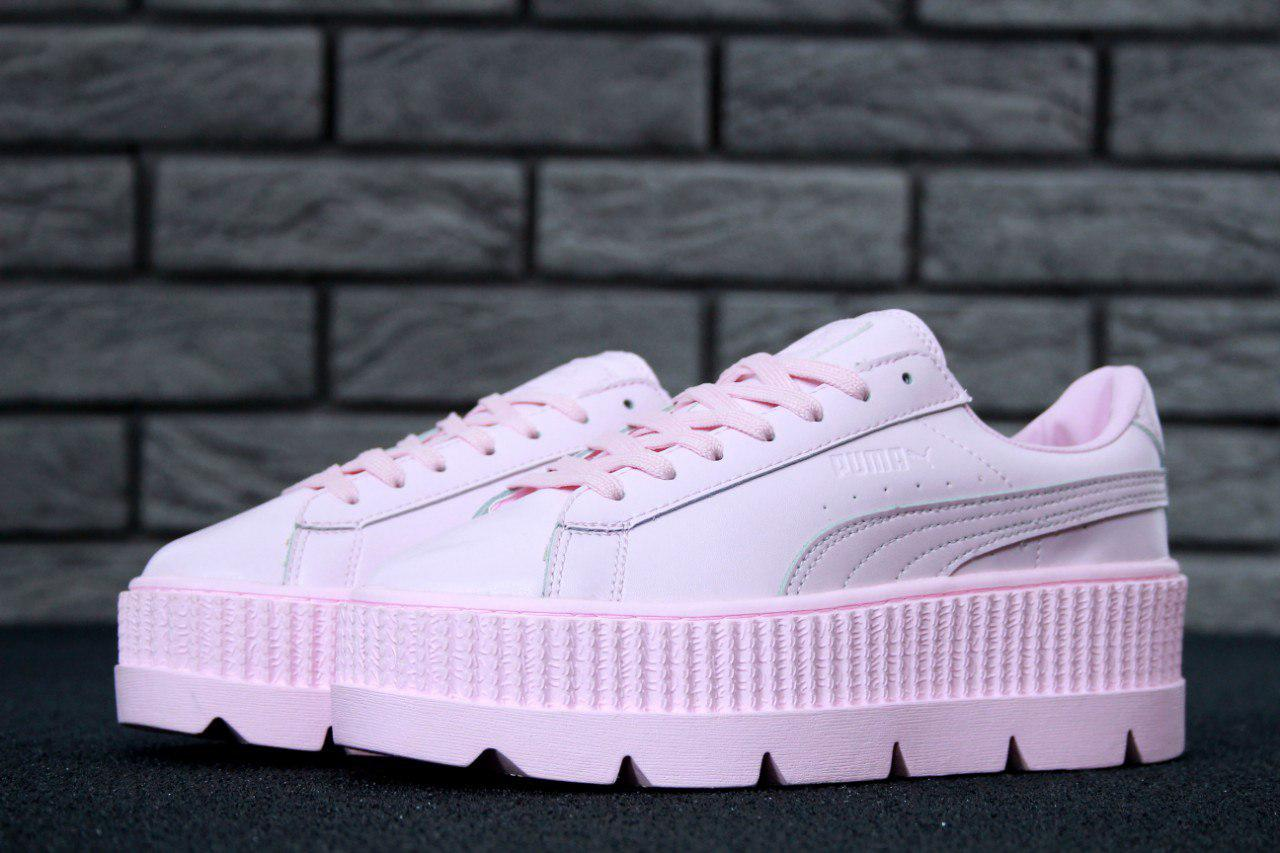Женские кроссовки Rihanna x Puma Fenty Cleated Creeper Реплика ... d6f5dd1eaa084