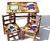 Детский столик + 2 стула