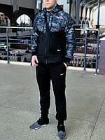 Ветровка + Штаны Nike Спортивный костюм мужской осенний весенний Найк