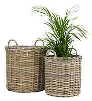 Два горшка с руками для растений уличные (2 шт, высота 58 см)