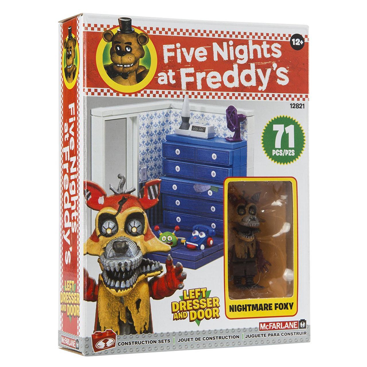 """Конструктор пять ночей с Фредди McFarlane Toys Five Nights At Freddy's """" Комод и левая дверь"""""""