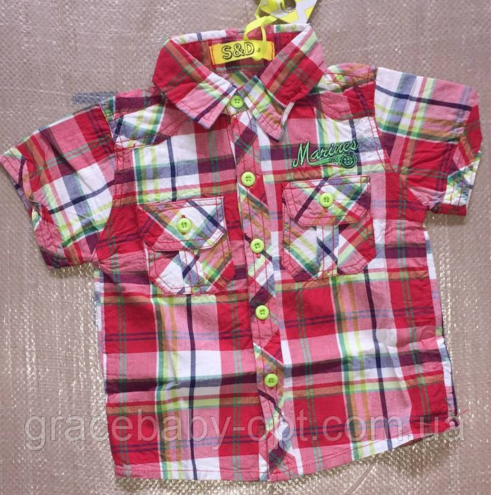 Рубашки на мальчика оптом 9d3b8da47aba8