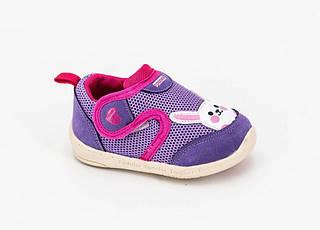 Обувь для девочек, детские кроссовки фиолетовые, Jong Golf
