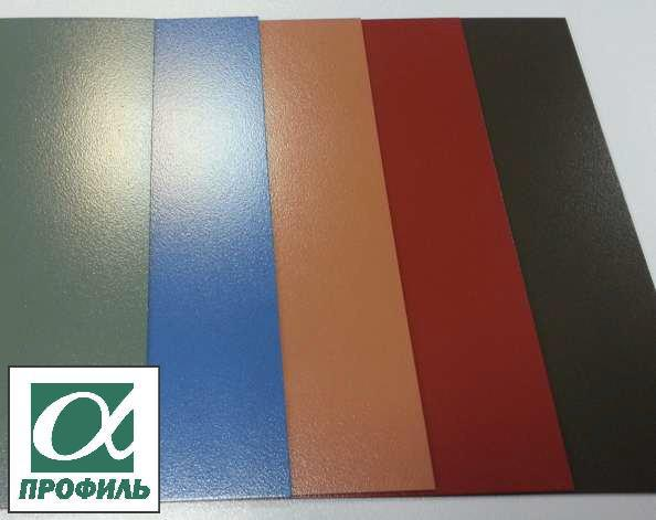 Профнастил с полимерным покрытием за 1 день от производителя (0,4-0.45 мм)