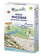 Каша детская Рисовая на КОЗЬЕМ МОЛОКЕ, с 4 месяцев (200 гр.)
