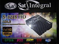 Спутниковый HD тюнер Sat Integral S-1218 (дисплей)