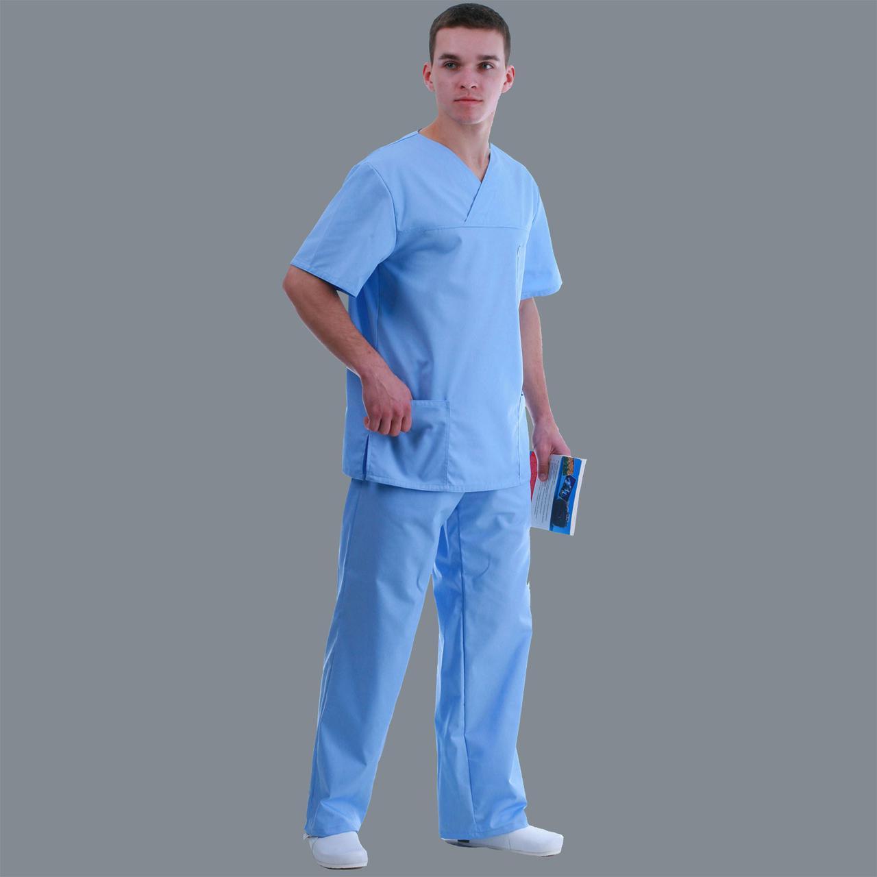 Медицинский мужской костюм Унисекс