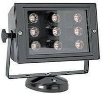 Прожектор светодиодный e.light.LED.150.9.9.2700.black 9Вт черный
