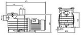 Насос для бассейна Kripsol Ondina OK51 (8,5 м³/час), фото 6