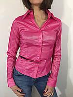 Рубашка женская 631 розовая S/L/XL