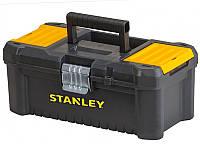"""Ящик для ручного инструмента Stanley 12.5"""" пластиковый металлическая защелка"""