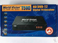 Т2 тюнер World Vision T59D Dolby Digital AC3, фото 1