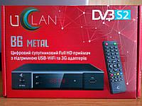 Спутниковый HD тюнер U2C B6 METAL