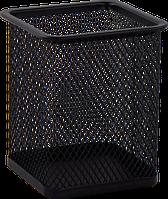 Підставка для ручок квадратна BUROMAX, металева