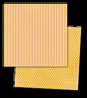 """Бумага для скрапбукинга My Mind's Eye - Collectable - Notable - """"Silly"""" Cheery, 30х30, CTB117"""