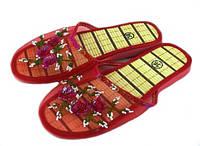 Тапочки женские «Сеточка», красные, фото 1